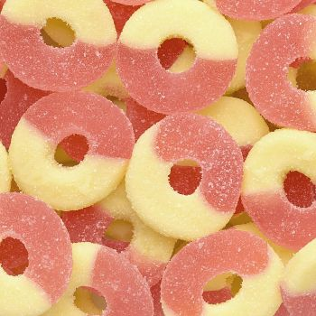 Gummi Rings Strawberry Banana
