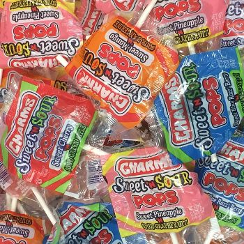Charms Pops Sweet 'N Sour