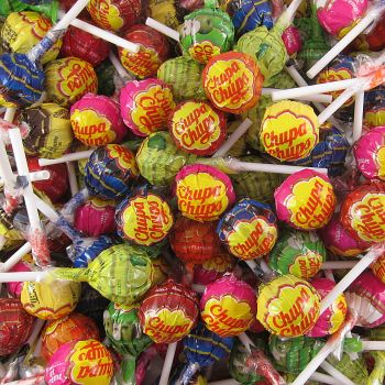 Chupa Chups Assorted Lollipops
