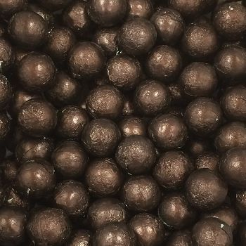 Foil Wrapped Milk Chocolate Balls Brown