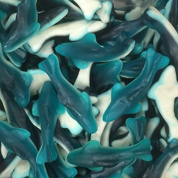 Gummi Blue Sharks