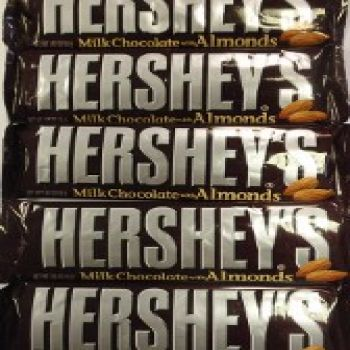 Hershey Bar With Almonds