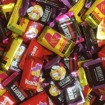 Hershey Miniatures Valentines