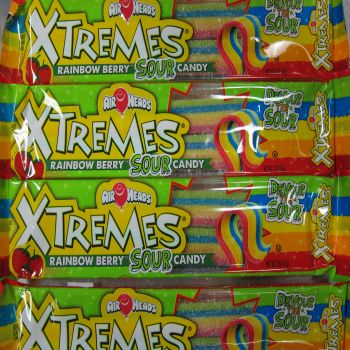 Airheads Xtremes Rainbow Berry Sour Belts