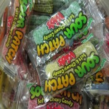 Sour Patch Kids Wrapped